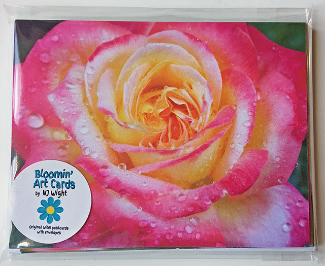 NJ Wight Bloomin' Art Cards