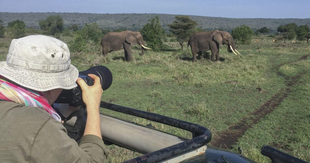 Join NJ Wight for a Kenya safari